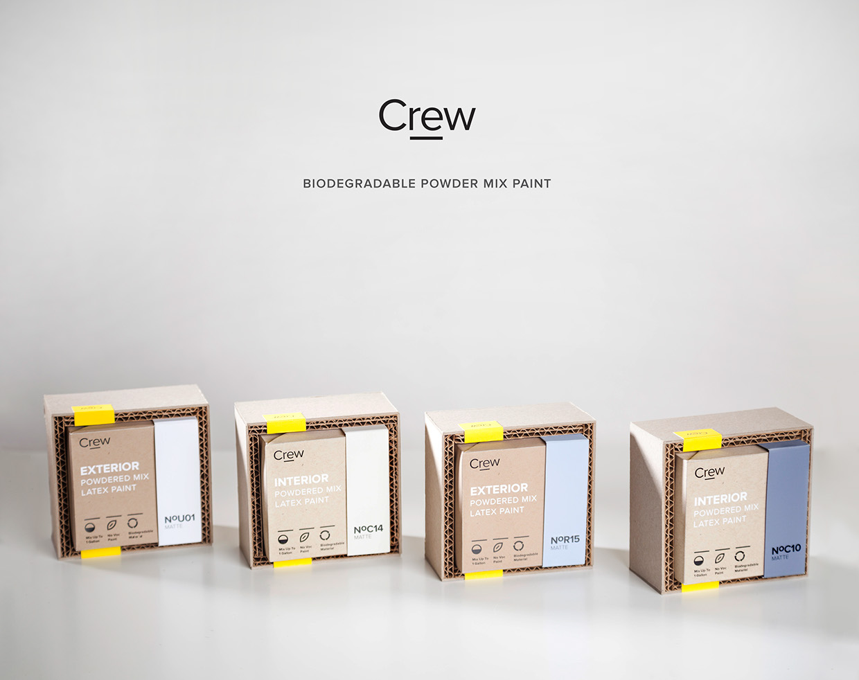 Crew Paint Kit On Packaging Of The World Creative