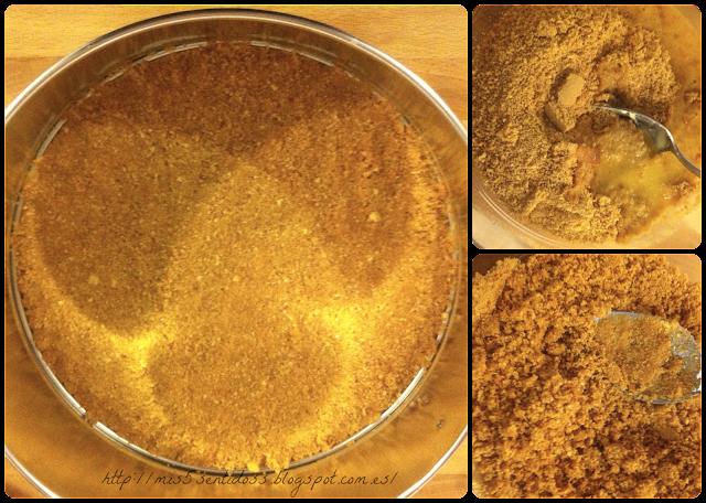 Tarta de queso al horno con Thermomix