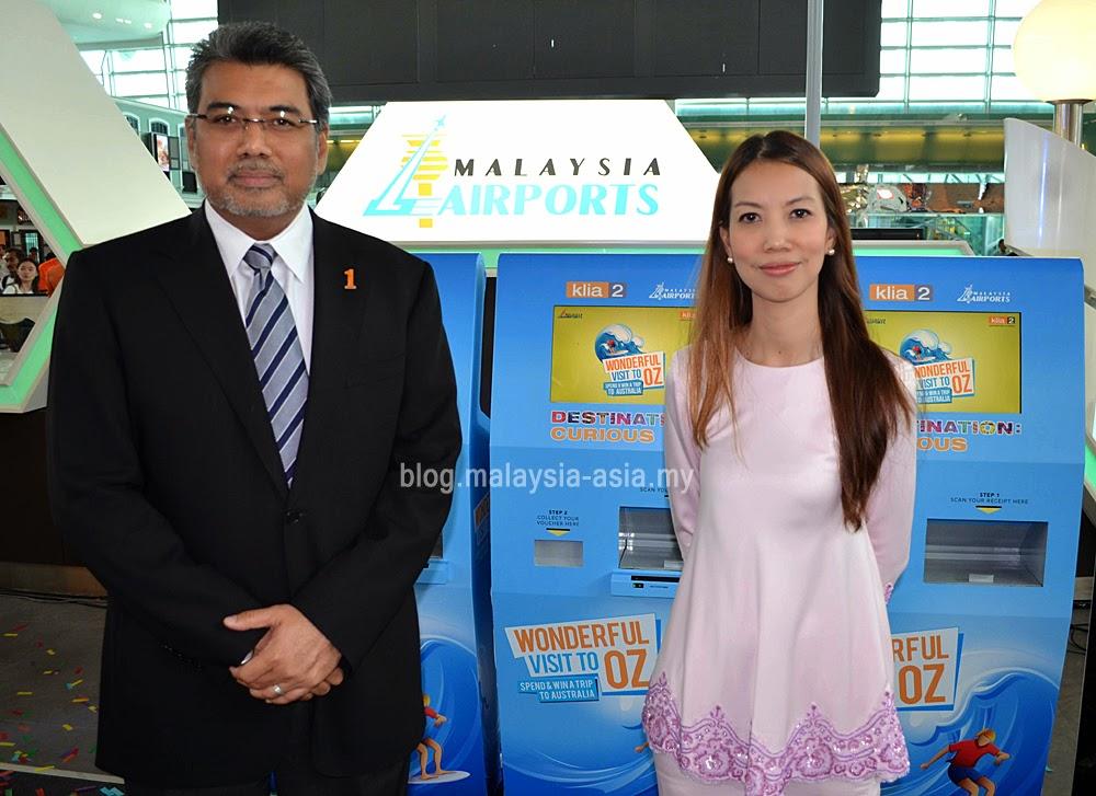 Datuk Badilshah Ghazali and Puan Faizah Khairuddin Malaysia Airports
