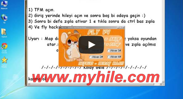 Transformice Güncel Fly Hack Oyun Hilesi 2014 + Video
