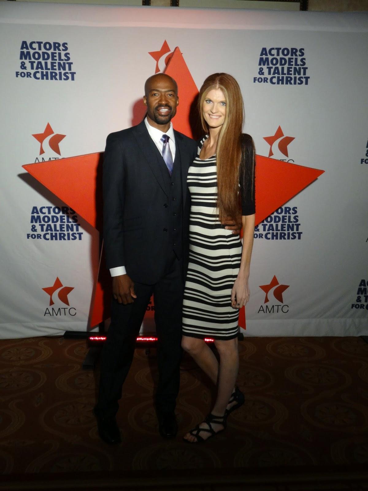 AMTC Shine 2013 Red Carpet with Wladimir and Elyssa