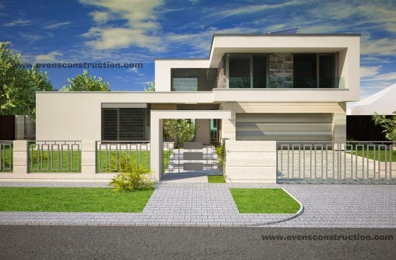 Compound Residential Design : Evens construction pvt ltd compound walls and gates