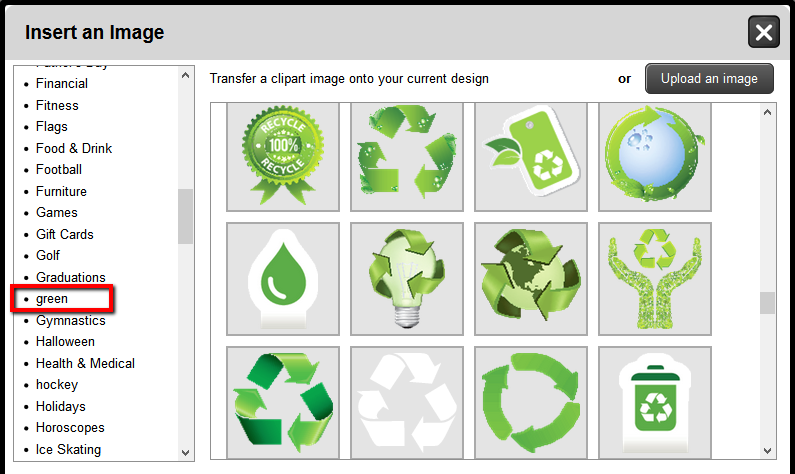 Green / Earth Day Clip Art Images