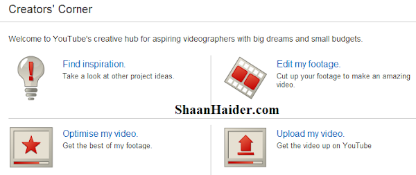 YouTube Creator's Corner