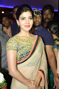 Samantha Latest Glam pics in saree-thumbnail-16