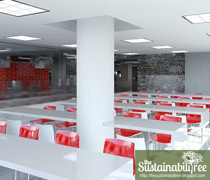 A rendering of uOttawa's new Dining Hal