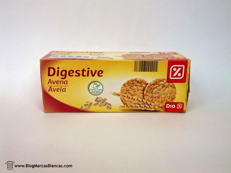 Galletas digestive avena Dia fabricadas por Galletas Gullón
