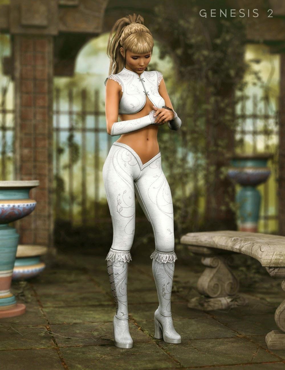 La Matadora Outfit Textures