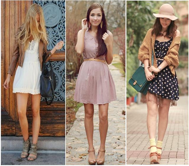 vestidos curtos para o dia a dia