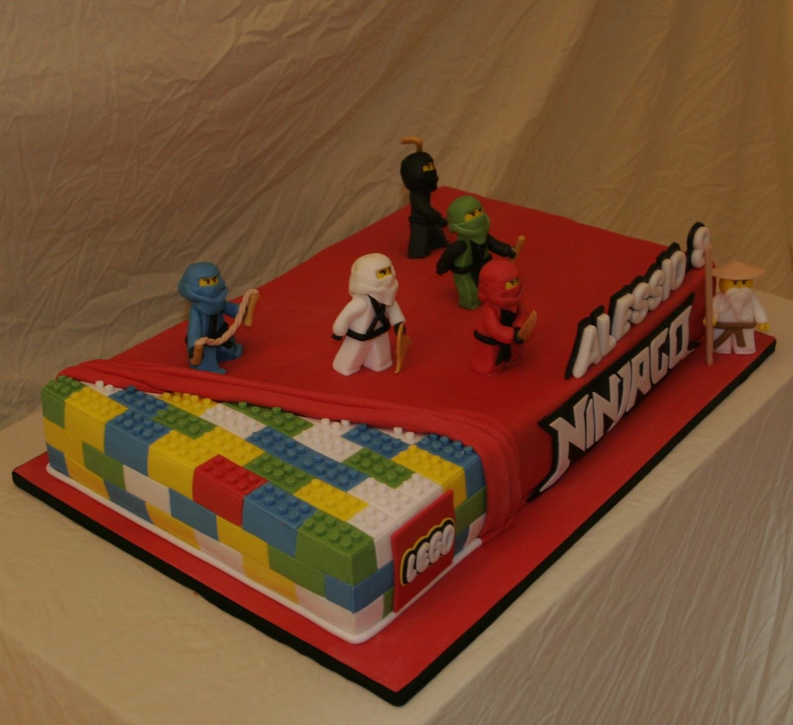Lego ninjago cake ma che torte for Decorazioni torte ninjago