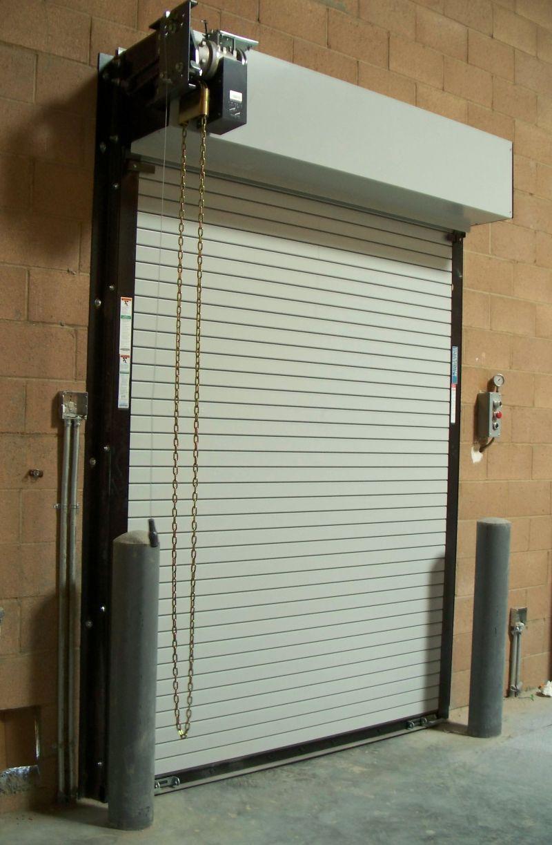 Energy code failure roll up door archfuse for Roll up garage door motors