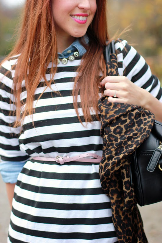 Here & Now leopard + stripes
