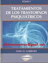 TRATAMIENTO DE LOS TRASTORNOS PSIQUIÁTRICOS