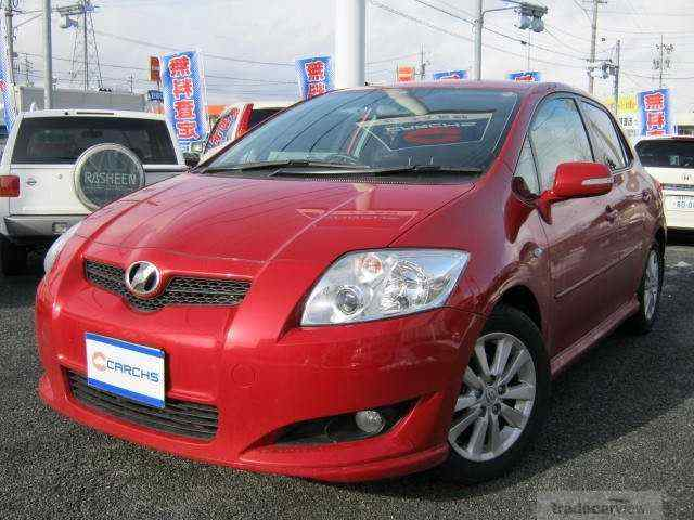 TOYOTA AURIS-2008-1800-RED