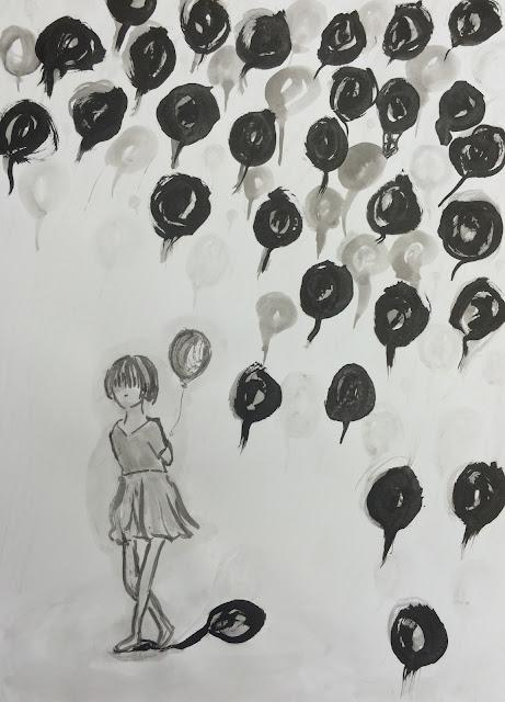 風船はワタシ / Balloons me