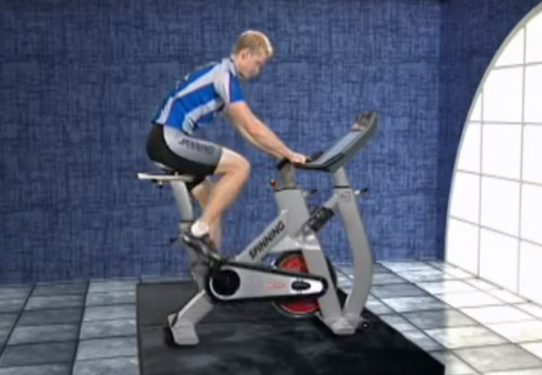 giảm cân bằng xe đạp tập