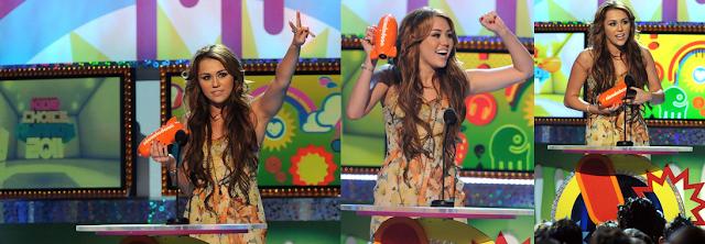 miley cyrus 2011 kca. selena gomez 2011 kca. Miley