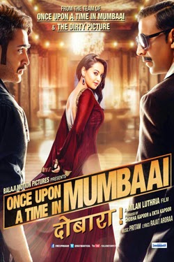 Once Upon a Time in Mumbai Dobaara 2014 poster