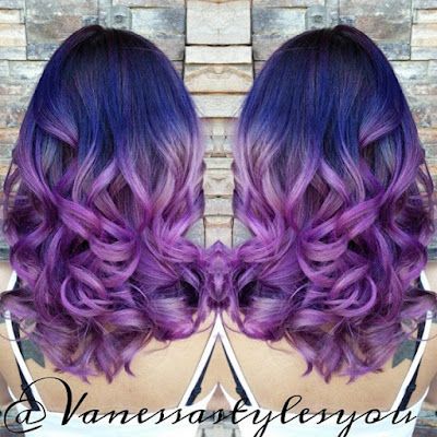 how to dye your hair the best purple time shafdes