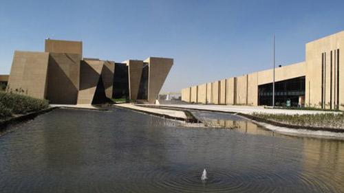 Podio centro cultural mexiquense bicentenario ccmb por for Conceptualizacion de la arquitectura
