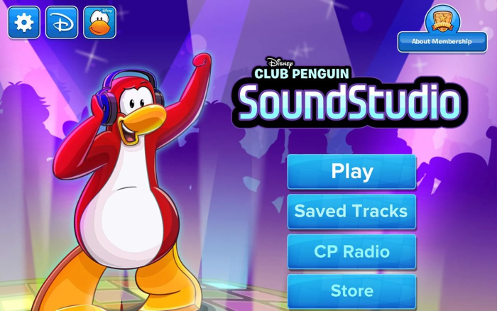 Club Penguin SoundStudio App