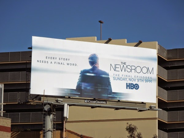 The Newsroom season 3 billboard
