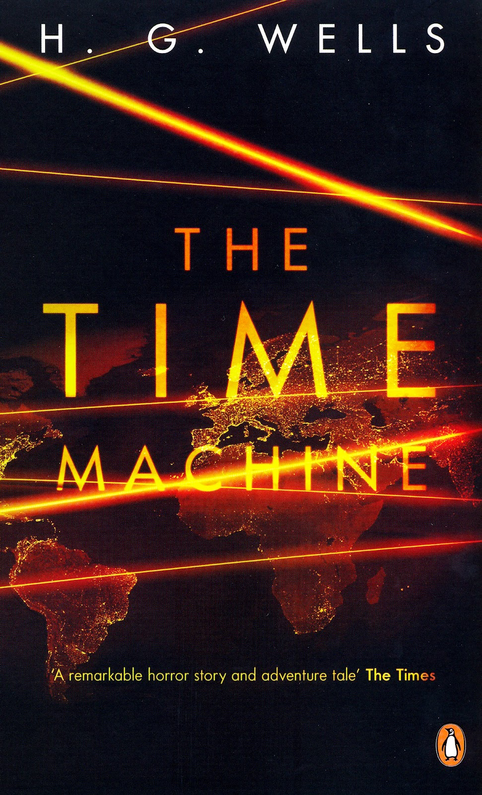 the time machine hg wells The time machine is a science fiction novella by h g wells, published in 1895 and written as a frame narrativethe work is generally credited with the popularization of the concept of time.