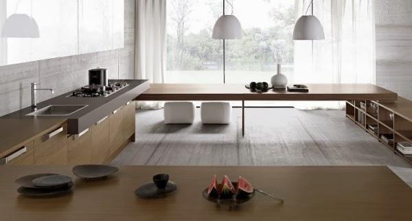 Minimaliste cuisine designs