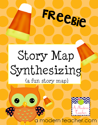 Story Map Freebie from A Modern Teacher