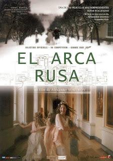Cartel del ciclo de cine ruso del Museo del Prado