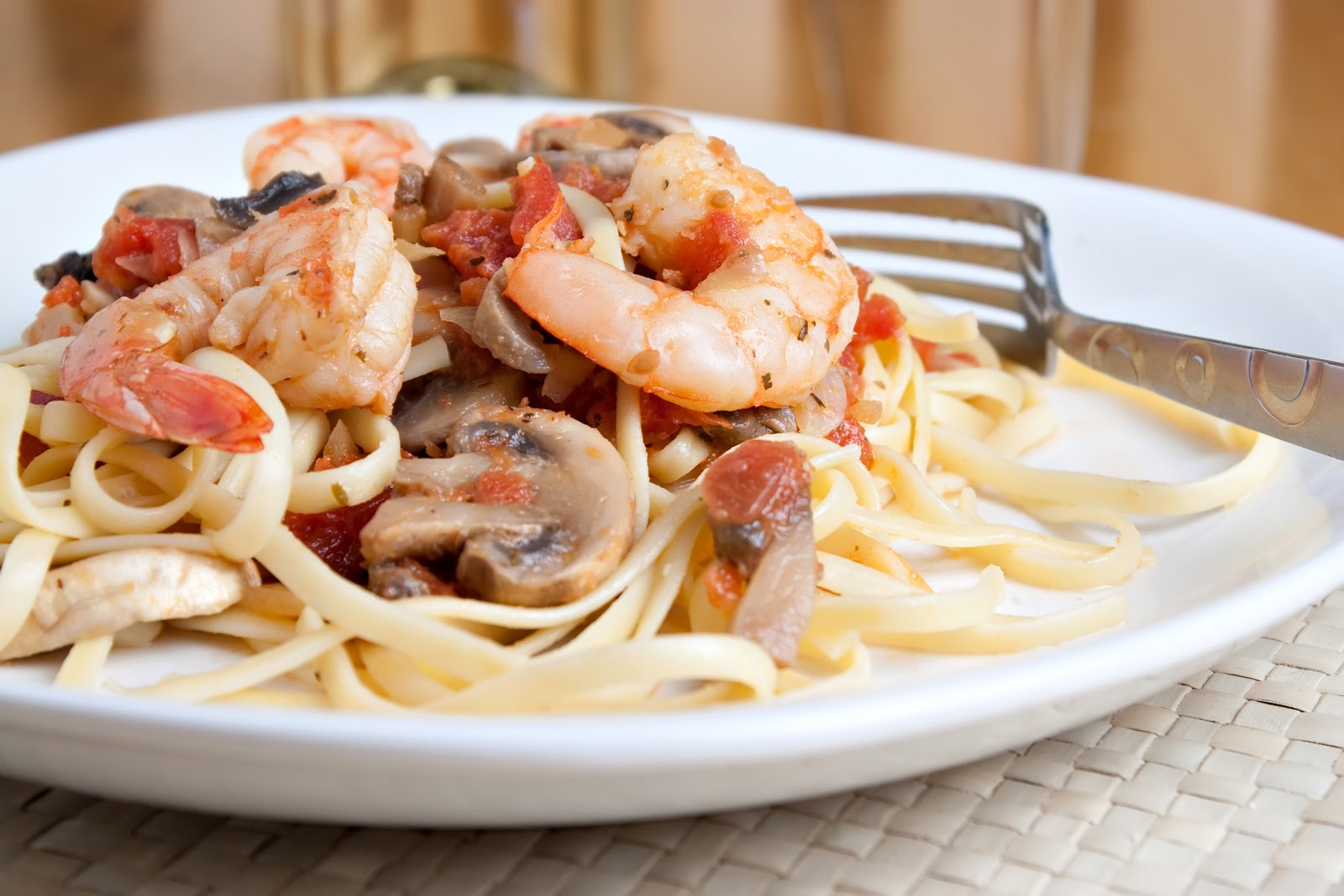 Orange County Mom Blog: Champagne Shrimp and Angel Hair Pasta Recipe