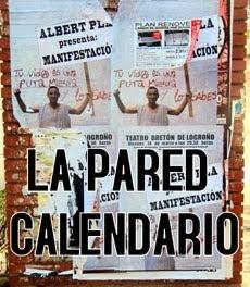 'La pared calendario'