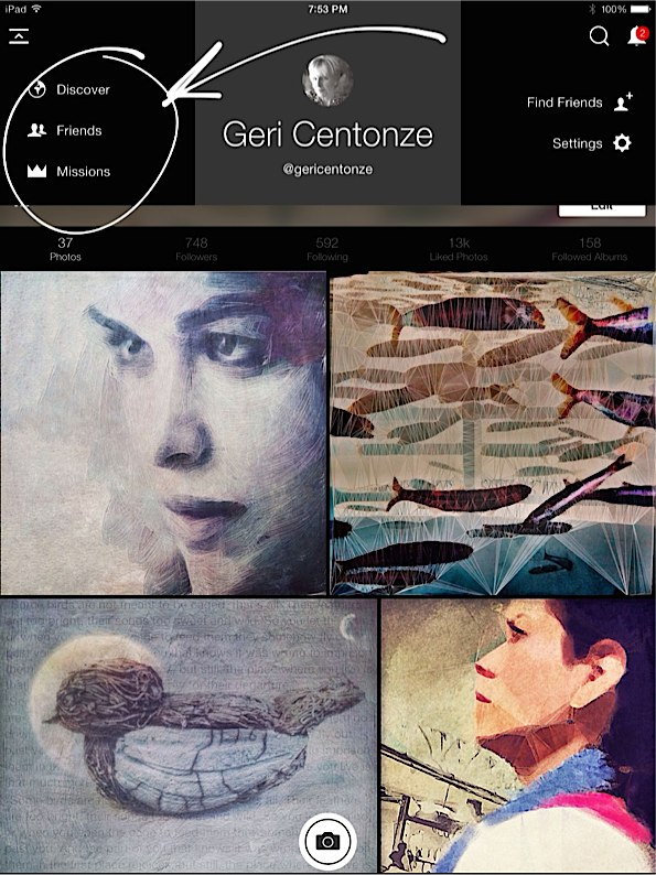 Screen Shot Geri Centonze EyeEm