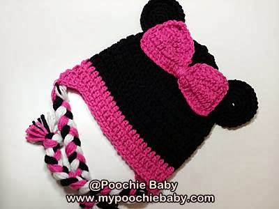 Minnie Mouse Hat for Girls