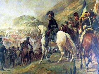 'Batalla de Chacabuco', óleo de don Pedro Subercaseaux. Museo Histórico Nacional.Buenos Aires. Tomado de www.sanmartinianostdf.org.ar