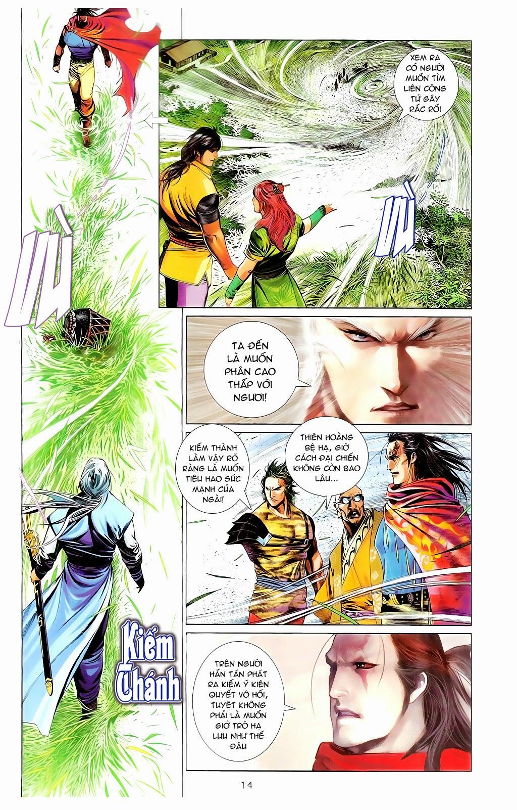 Phong Vân Chap 665 - Trang 13