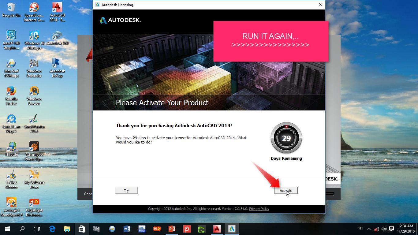 autocad 2014 системные требования к компьютеру
