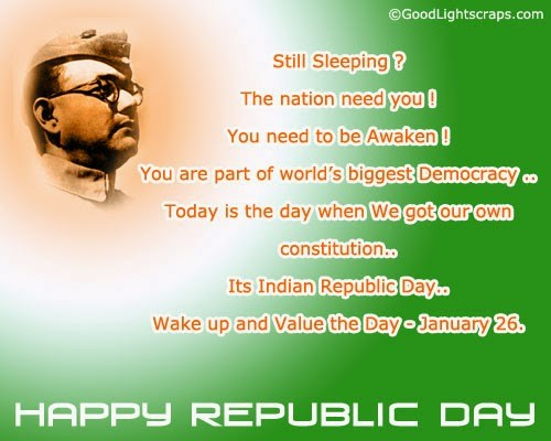 Top Beautiful Happy Indian Republic Day SMS Images for free download