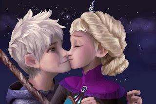 Gambar Elsa dan Jack Forst wallpaper 4