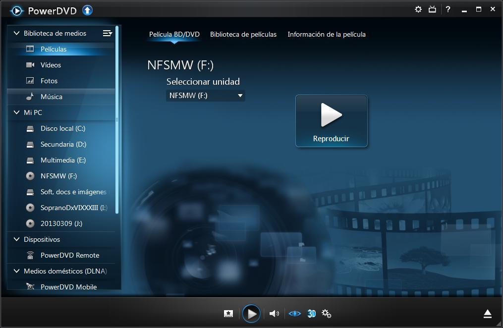 Cyberlink PowerDVD Ultra v.13.0.2720.57 [Español] [Full] Cap6.descargasvip.net
