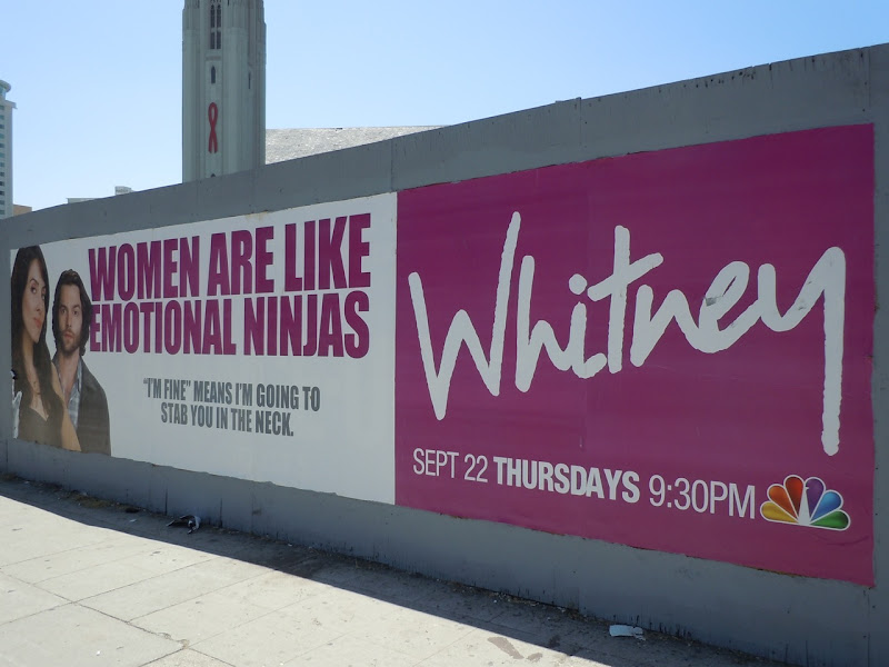 Whitney Emotional Ninjas poster