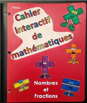 Cahier interactif de math