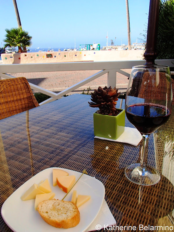 Pavilion Hotel Wine and Cheese, Catalina Island, California