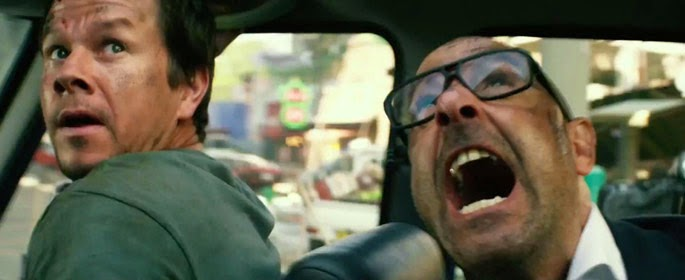 Stanley Tucci wears Mykita Mylon Pantara Glasses in Transformers: Age of Extinction