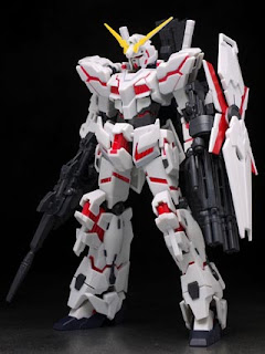 Robot Damashii (Side MS) Unicorn Gundam action figure