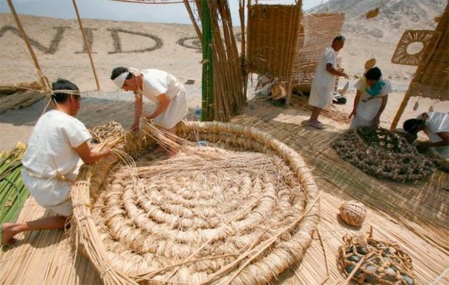 Declaran Patrimonio Cultural a la cestería en junco y totora en Huaura, Huaral y Barranca