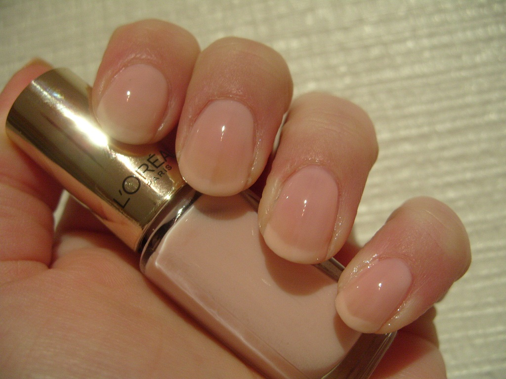 Pretty Perfect Beauty: NOTD: L\'Oreal Color Riche 201 Rose Paradis ...