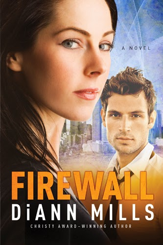 book review of Firewall by DiAnn Mills (Tyndale House) by papertapepins