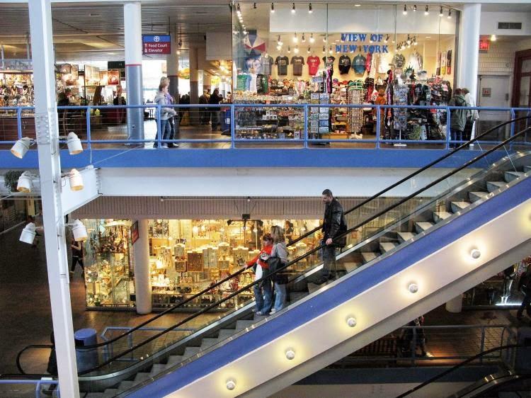 Shopping Pier 17 em Nova York