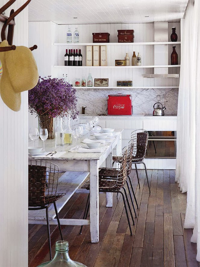 Seeking inspiration kitchens for Elle decoration france